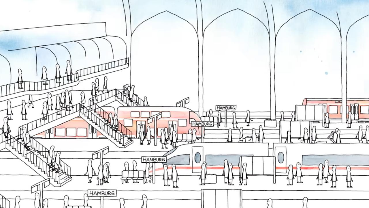 Das Video erklärt, warum die neue S-Bahn gebaut wird