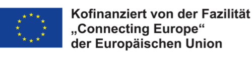 Logo Fazilität Connecting Europe